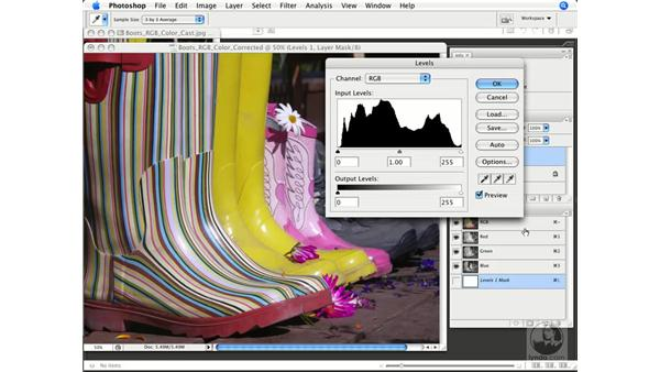 Image evaluation: Histo and Info: Photoshop CS3 Color Correction