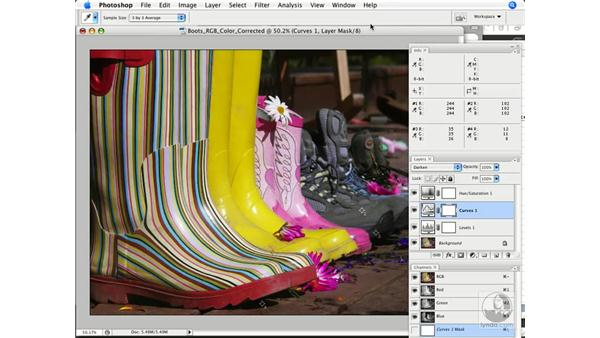 Proofing and gamut testing: Photoshop CS3 Color Correction