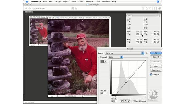Using neutrals and near/potential neutrals: Photoshop CS3 Color Correction