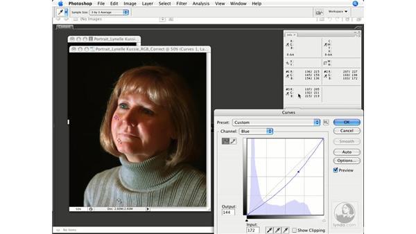 Skin tones and retouching: Photoshop CS3 Color Correction