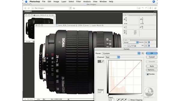 Product shot 1: Photoshop CS3 Color Correction