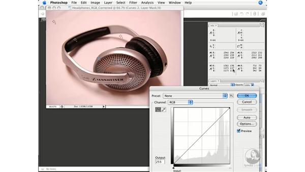 Product shot 3: Photoshop CS3 Color Correction