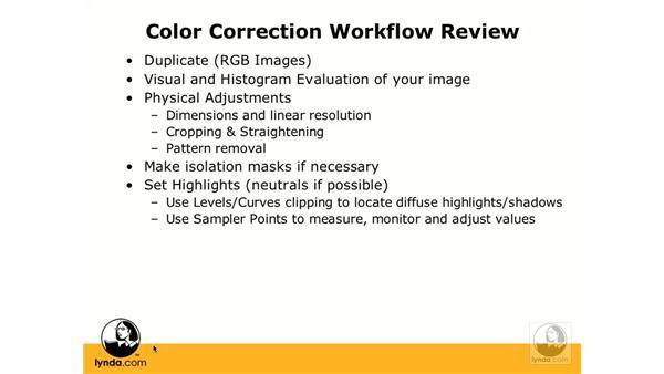 Workflow review: Photoshop CS3 Color Correction