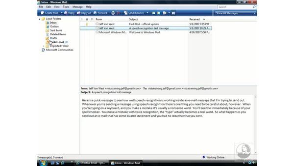 Windows Mail: Windows Vista Essential Training