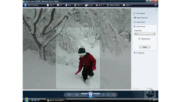 Photo Gallery advanced: Windows Vista Essential Training