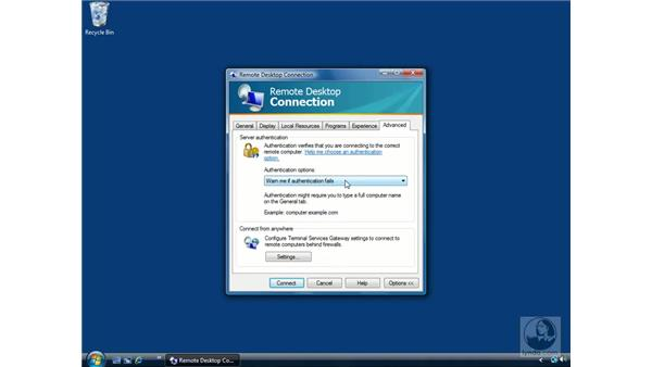 Remote Desktop: Windows Vista Essential Training