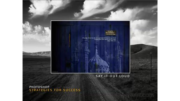 Strategies for success pt. 6: Say it out loud: Photoshop CS3 for Photographers