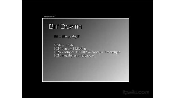 Bit depth 101: Photoshop CS3 for Photographers