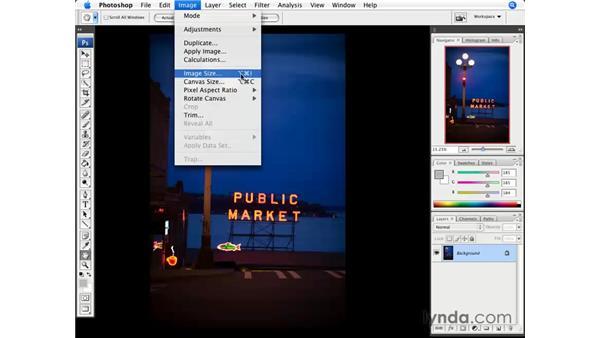 Image Resize: Photoshop CS3 for Photographers