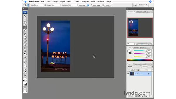 Crop and Canvas Size: Photoshop CS3 for Photographers