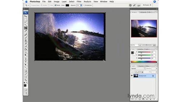 Crop Rotation: Photoshop CS3 for Photographers