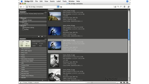 Metadata setup: Photoshop CS3 for Photographers