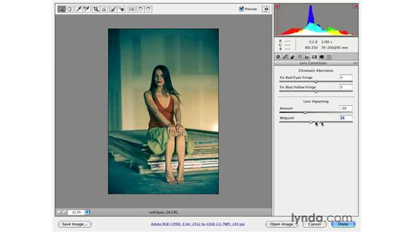 Lens Vignette: Photoshop CS3 for Photographers