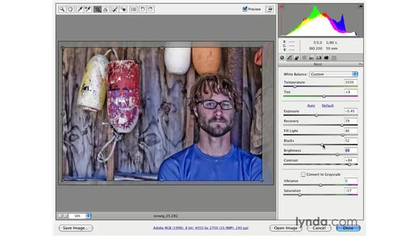 Contrast, edginess, and light: Photoshop CS3 for Photographers