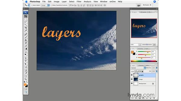 Introducing layers: Photoshop CS3 for Photographers