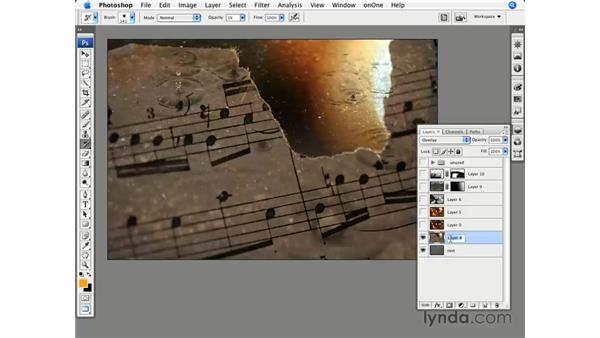 Initial layer organization: Photoshop CS3 for Photographers
