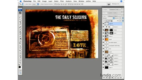 Creating a new layer: Photoshop CS3 for Photographers
