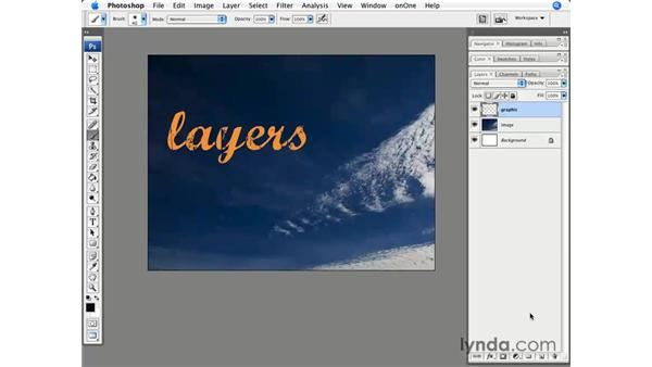 Creative shortcut 1: Creating a new layer below: Photoshop CS3 for Photographers