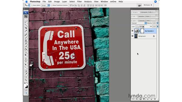 Modifying color: Photoshop CS3 for Photographers
