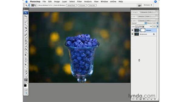 Masking and sharpening: Photoshop CS3 for Photographers