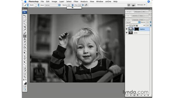 Masking and brightening: Photoshop CS3 for Photographers