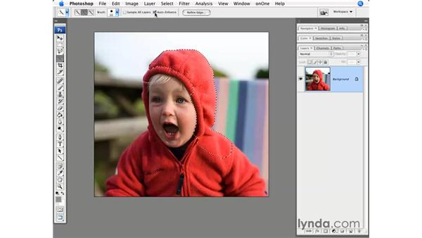 The all-new Quick Select tool : Photoshop CS3 for Photographers