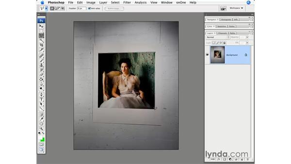The Lasso tool: Photoshop CS3 for Photographers