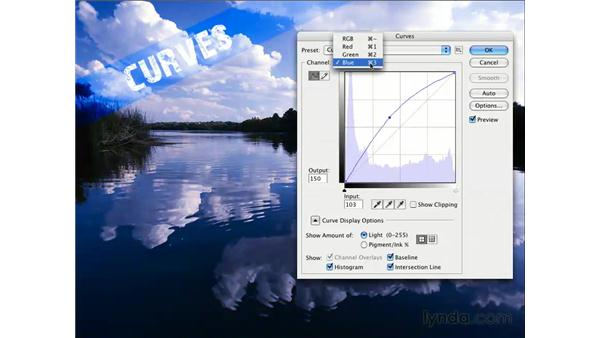 Cool demo with curves: Photoshop CS3 for Photographers