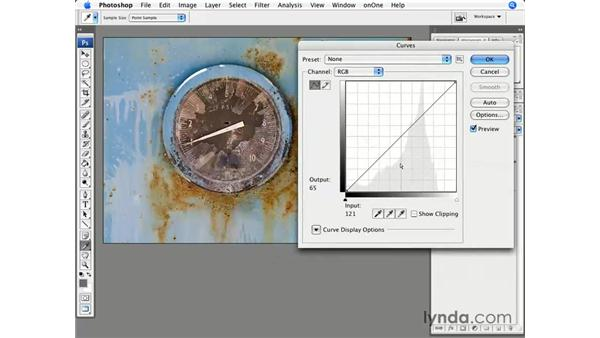 Curves for contrast and tone: Photoshop CS3 for Photographers
