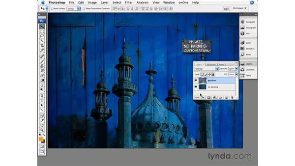 Blending multiple images: Photoshop CS3 for Photographers