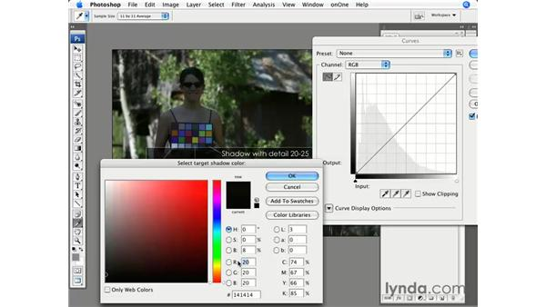 Color correction with the Macbeth color chart: Photoshop CS3 for Photographers