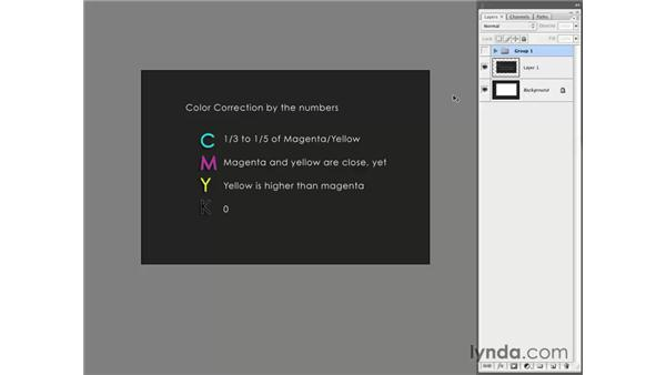 Introduction to color correction by the numbers: Photoshop CS3 for Photographers
