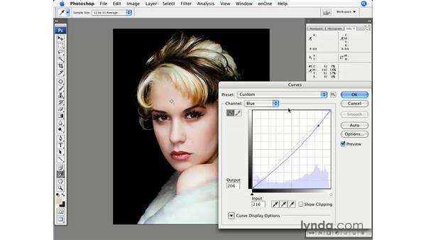 Color correction pt. 2: Light skin tone: Photoshop CS3 for Photographers