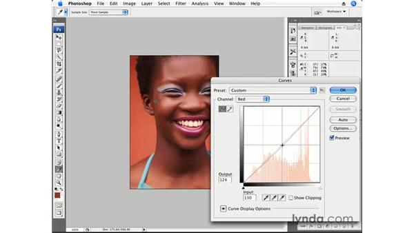 Color correction pt. 3: Dark Skin Tone: Photoshop CS3 for Photographers