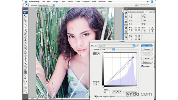 Color correction pt. 4: Medium Skin Tone: Photoshop CS3 for Photographers
