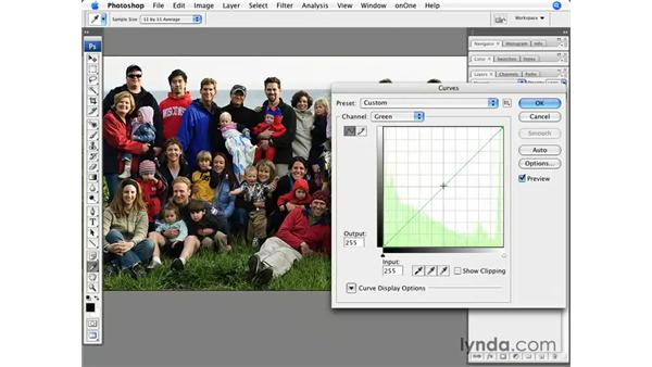 Enhancing color in a group shot: Photoshop CS3 for Photographers