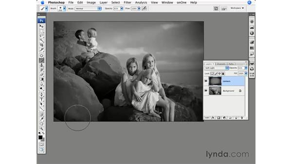 Burning in the corners: Photoshop CS3 for Photographers
