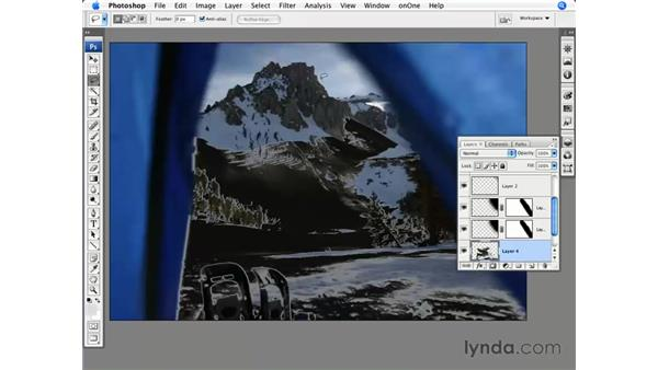 Reducing highlights: Photoshop CS3 for Photographers