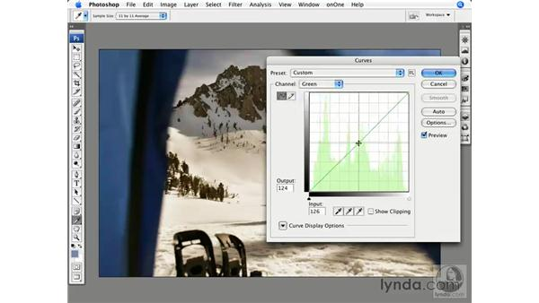 Bonus color modifications: Photoshop CS3 for Photographers