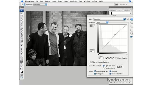 Black-and-white presets: Photoshop CS3 for Photographers