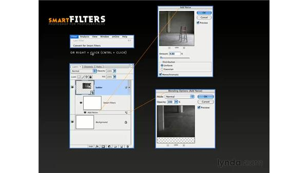 The all-new CS3 Smart Filters: Photoshop CS3 for Photographers