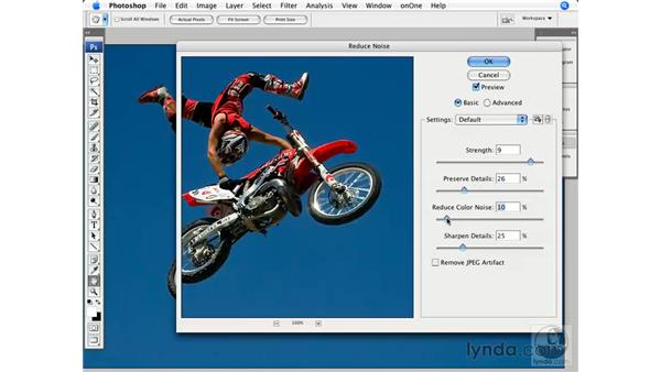 Advanced noise reduction using channels: Photoshop CS3 for Photographers