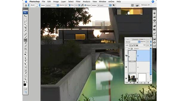 Architecture: Reducing and simplifying: Photoshop CS3 for Photographers