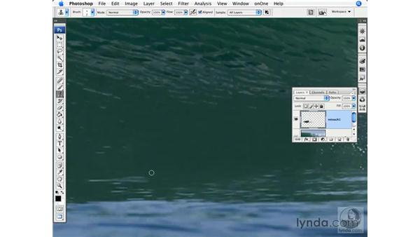 Surfing: Removing a person: Photoshop CS3 for Photographers