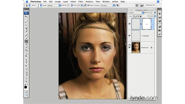 Fashion pt. 2: Reducing highlights: Photoshop CS3 for Photographers