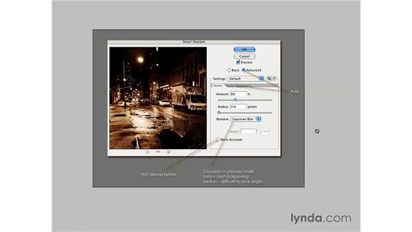 Introducing Smart Sharpen: Photoshop CS3 for Photographers