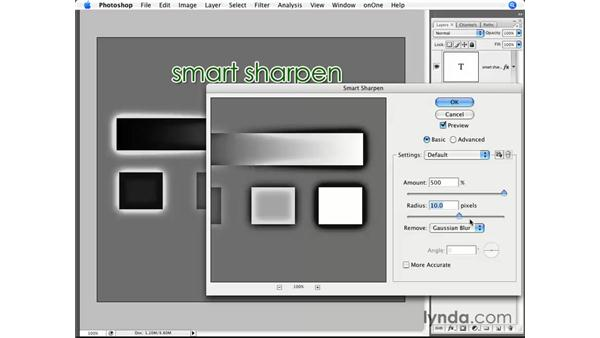 Smart Sharpen demystified: Photoshop CS3 for Photographers