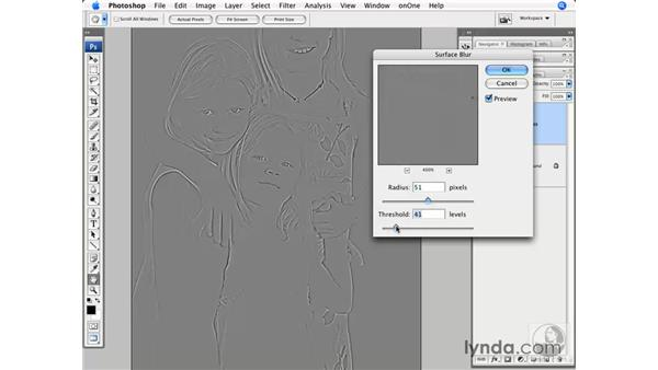 Advanced High Pass sharpening: Photoshop CS3 for Photographers