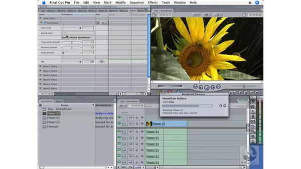 SmoothCam: Final Cut Pro 6 New Features