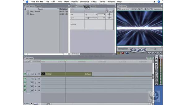 Using generated renders: Final Cut Pro 6 New Features
